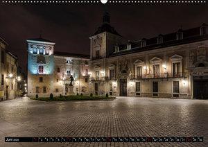 Madrid bei Nacht (Wandkalender 2020 DIN A2 quer)