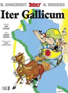 Asterix Lateinische Ausgabe 05. Iter Gallicum