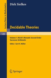 Decidable Theories