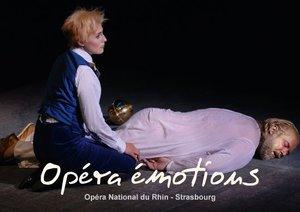 Opéra émotions Opéra National du Rhin - Strasbourg (Livre poster