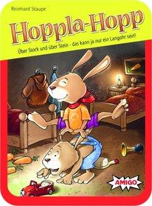 Hoppla-Hopp (Kinderspiel), in Metallbox