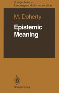 Epistemic Meaning