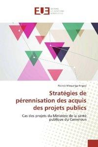 Stratégies de pérennisation des acquis des projets publics