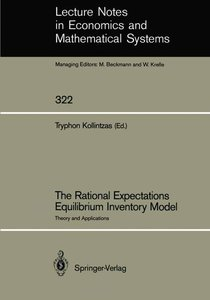 The Rational Expectations Equilibrium Inventory Model