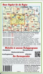 Lausitzer Seenland, Senftenberg, Hoyerswerda und Umgebung 1 : 50