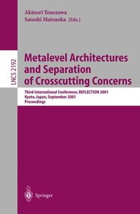 Metalevel Architectures and Separation of Crosscutting Concerns