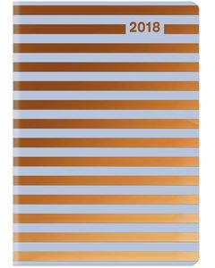Midi Flexi Diary GlamLine STRIPES 2018