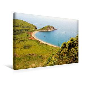 Premium Textil-Leinwand 45 cm x 30 cm quer Worbarrow Bay Dorset