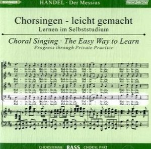Der Messias HWV 56, Chorstimme Bass, 2 Audio-CDs