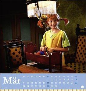 Pippi Langstrumpf Postkartenkalender Kalender 2020