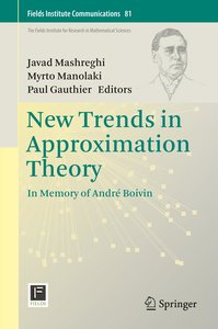 New Trends in Approximation Theory