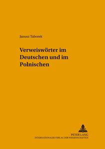 Verweiswörter im Deutschen und im Polnischen