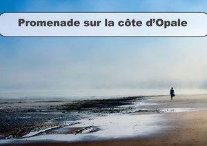 Promenade sur la Côte d'Opale (Livre poster DIN A4 horizontal)
