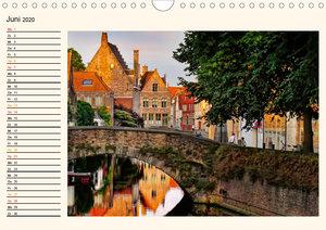 Brügge - Venedig des Nordens (Wandkalender 2020 DIN A4 quer)