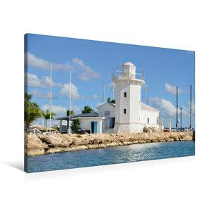 Premium Textil-Leinwand 90 cm x 60 cm quer Casa de Campo Marina,