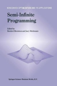 Semi-Infinite Programming