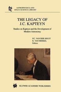 The Legacy of J.C. Kapteyn