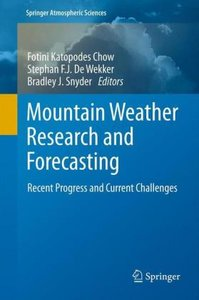 Mountain Weather Research and Forecasting