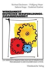Wirksamkeit deutscher Berufsbildungszusammenarbeit