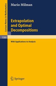 Extrapolation and Optimal Decompositions