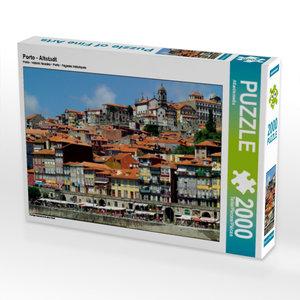 Porto - Altstadt 2000 Teile Puzzle quer