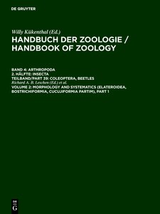 Volume 2: Morphology and Systematics (Elateroidea, Bostrichiform