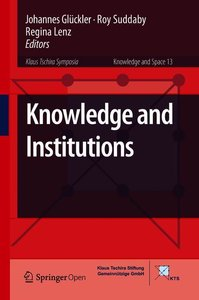 Knowledge and Institutions