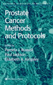 Prostate Cancer Methods and Protocols