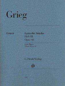 Lyrische Stücke Heft III, op. 43