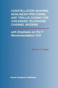 Constellation Shaping, Nonlinear Precoding, and Trellis Coding f