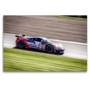 Premium Textil-Leinwand 120 cm x 80 cm quer SMP RACING - Ferrari