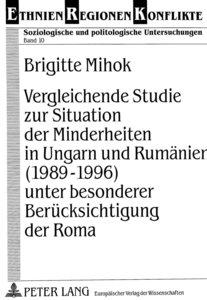Vergleichende Studie zur Situation der Minderheiten in Ungarn un