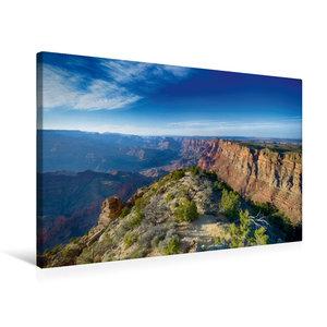 Premium Textil-Leinwand 75 cm x 50 cm quer Grand Canyon - Sunris