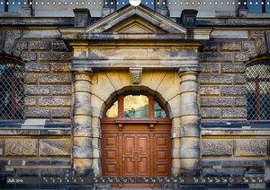 Die Portale von Dresden (Wandkalender 2019 DIN A3 quer)