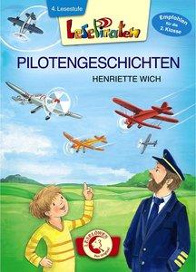 Lesepiraten - Pilotengeschichten. Großbuchstabenausgabe