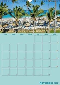 Karibik - Sonne, Strand und Palmen (Wandkalender 2019 DIN A3 hoc