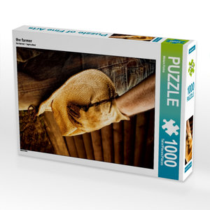 the farmer 1000 Teile Puzzle hoch