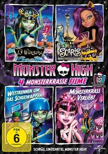 Monster High-4 monsterkrasse Filme (13...
