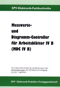 Messwerte- und Diagramm-Controller für Arbeitsblätter IV B