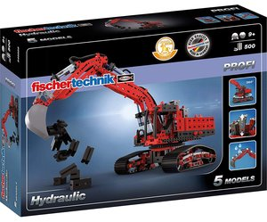 Fischertechnik 548888 - PROFI Hydraulic, 5 Modelle, 500 Bauteile