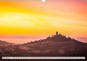 Mittelhessens Burgen und Schlösser (Wandkalender 2020 DIN A3 que