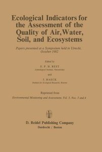 Ecological Indicators for the Assessment of the Quality of Air,