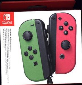 Joy-Con 2er-Set Neon-Grün/Neon-Pink, Controller für Nintendo Swi