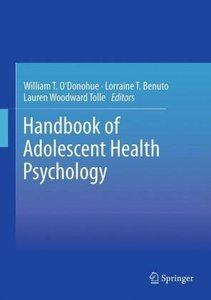 Handbook of Adolescent Health Psychology