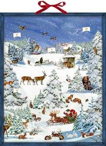 Zettelkalender - Winterwunderland