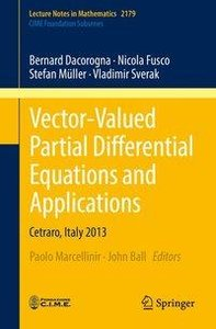 Vector-Valued Partial Differential Equations and Applications