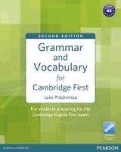 Grammar and Vocabulary for Cambridge First (no Key)