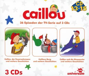 Caillou Hörspielbox 5 (CD 13-15)
