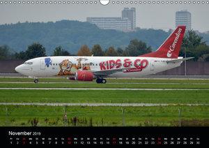 Flugzeugbilder f?r Kids und Co (Wandkalender 2019 DIN A3 quer)