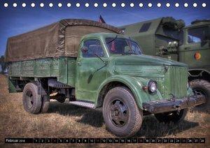 alte Kämpfer- Militärfahrzeuge des Ostblocks